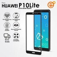 Protector Pantalla de Cristal Templado Completa para Huawei P10 Lite Protección de vidrio de Seguridad para Smartphone