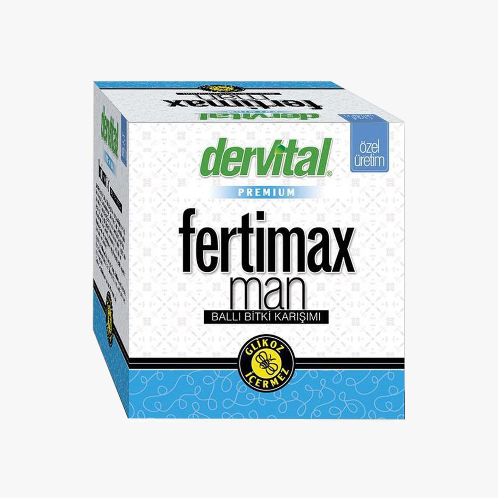 Fertimax Macun Paste For Azoospermia And Male Fertility 230 Gr.  Royal Jelly,  Grape Seed, Maca Powder