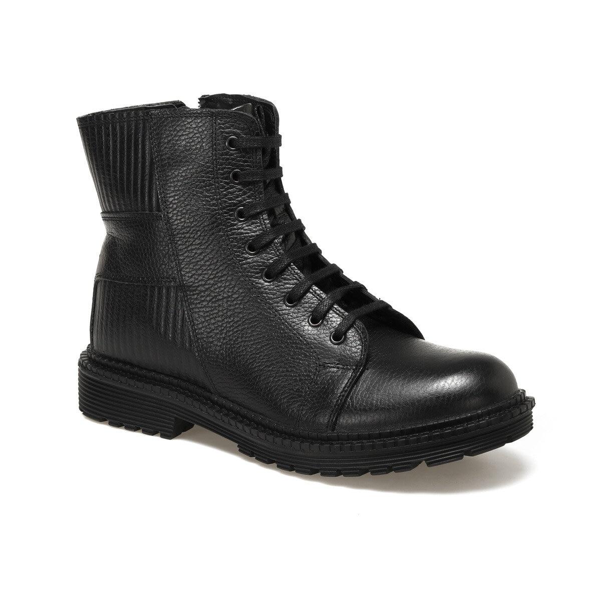 FLO 4090 Black Men Boots Forester