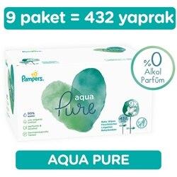 Ebebek Prima Pampers Aqua Reines Nass Handtuch 9x48 stücke