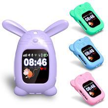 1 шт. Силиконовые Детские Смарт-часы защитный чехол милый мультфильм Медведь Кролик Кулон Защитный чехол Детские часы Универсальный