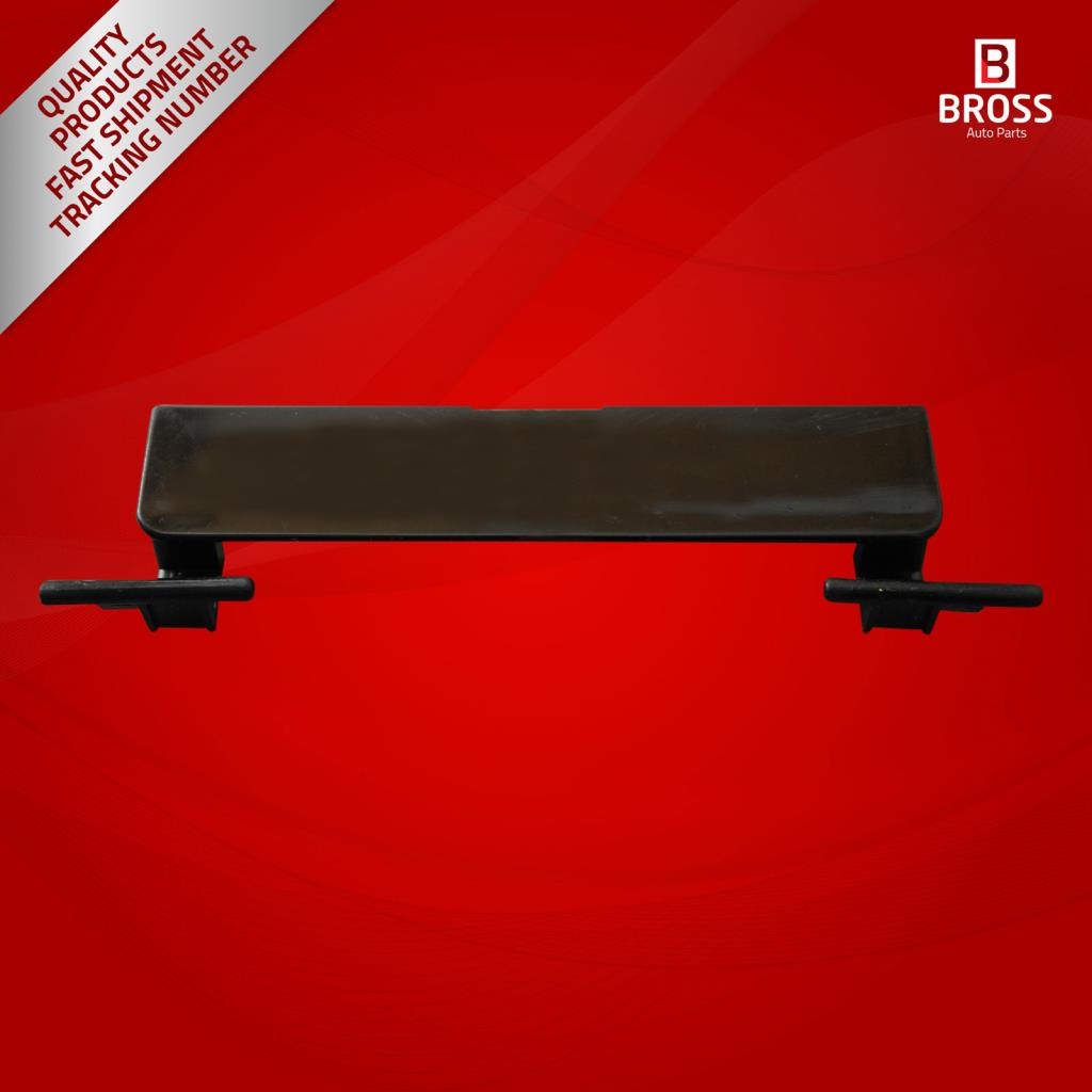 Bross BSR516 Roof Molding Port Bag Cover for C Class W204 2008-On 95 mm * 20mm: c180K, C200K, C230, C280, C300, C350, C200CDI