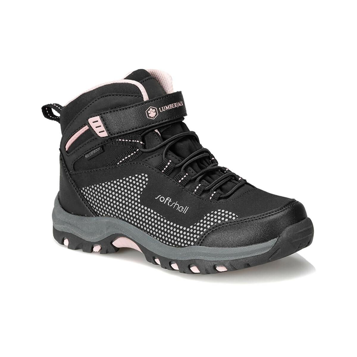 FLO FULLER HI 9PR Black Female Child Boots LUMBERJACK