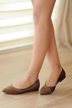 Różowe buty damskie Potin A3750-20 tanie i dobre opinie Pembe Potin Oksfordzie TR (pochodzenie) Sztuczna skóra Gumką Pasuje prawda na wymiar weź swój normalny rozmiar Na co dzień