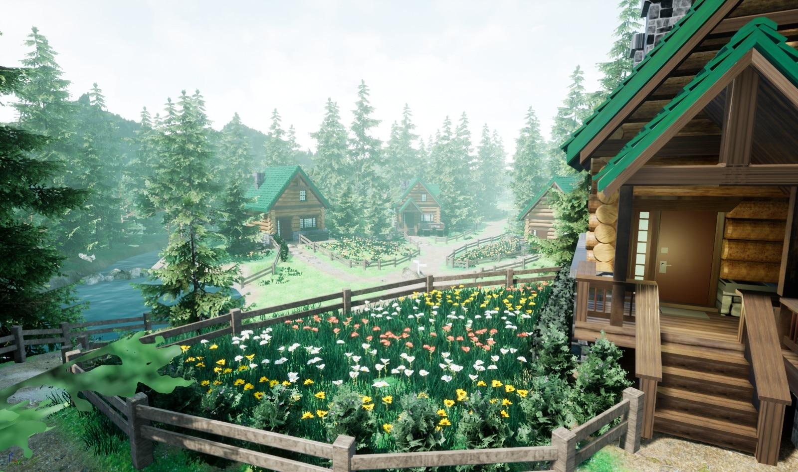 玩家用虚幻引擎重制《宝可梦:钻石/珍珠》双叶镇