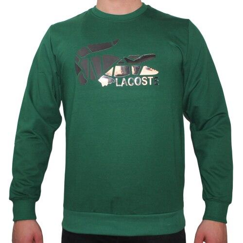 Lacoste Hoodie Green Sweatshirt