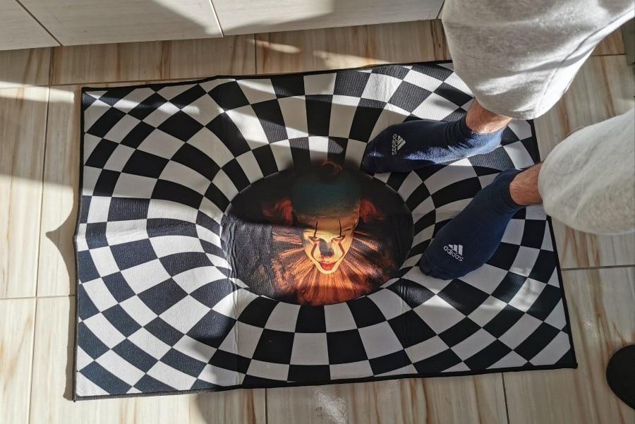 3D Hole Doormat