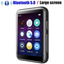 CHENFEC C5 Metal Slim 16GB MP4 Music Player Bluetooth 1.8 inch MP4 Music Player with FM, E book, microphone HiFi MP4 Player