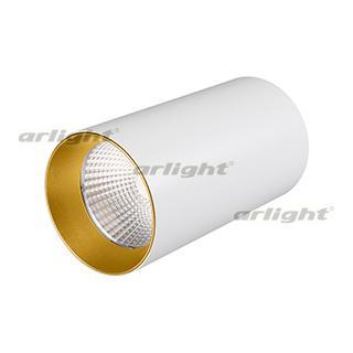 022942 Downlight Overhead Lamp Warm White 40deg (white, Gold Ring) Arlight 1-piece