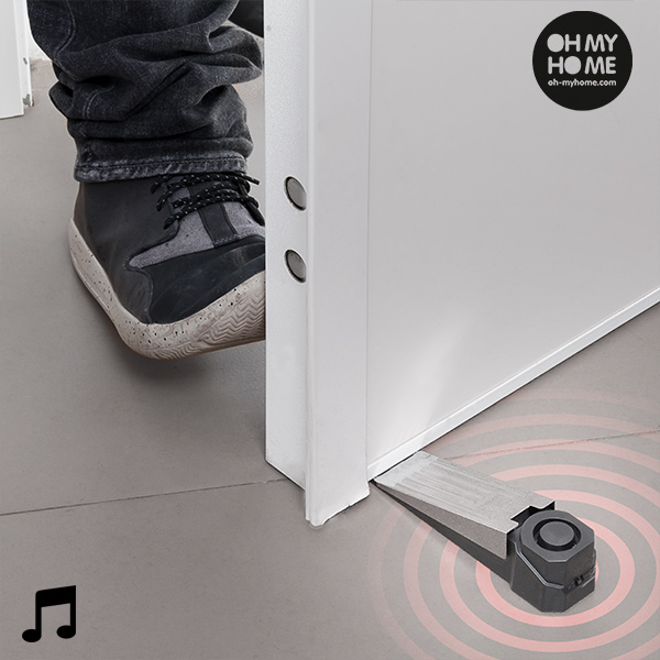 Oh My Home Door Stop Alarm with Contact Sensor|Surveillance System| |  - title=