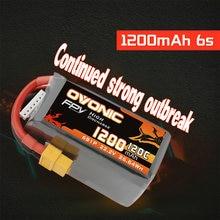 Литий полимерный аккумулятор ovonic 120c 222 в 6s 1200 мАч литий