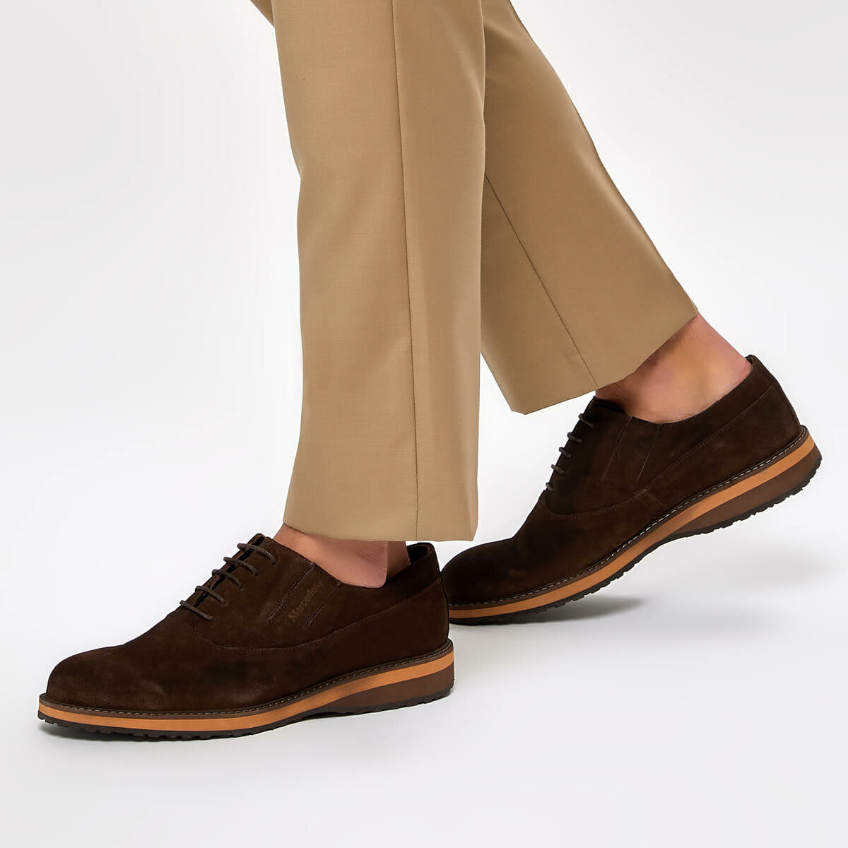 FLO TERRY S Brown Men 'S Classic Shoes MERCEDES