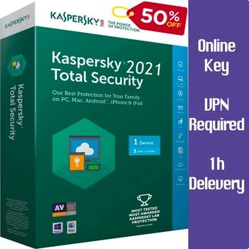 KASPERSKY 2021 полная безопасность 1 устройство/2 года/онлайн-ключ Win-Mac