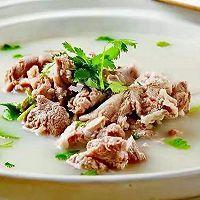 花心萝卜羊肉汤的做法图解3