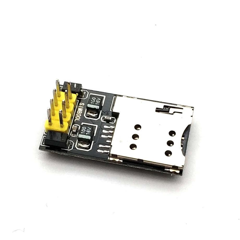Taidacent SIM800L GPRS GSM Module Micro SIM Card Core Board GSM Quad Band TTL Serial Port ESP32 ESP8266 SIM800L