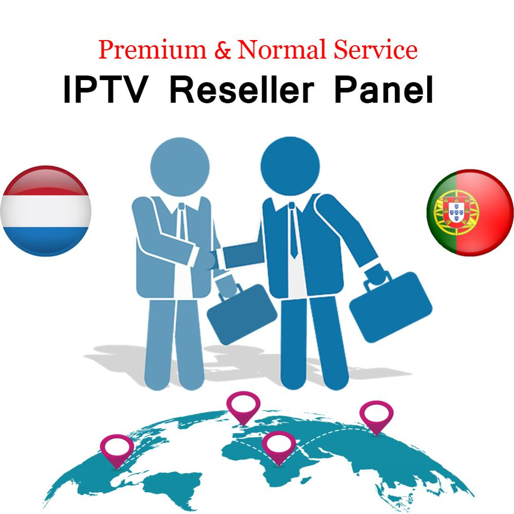 World Iptv Control Panel Resellers With 60 Credits Contains 6800+Live For IPTV Resellers IPTV M3U Netherland Portugal