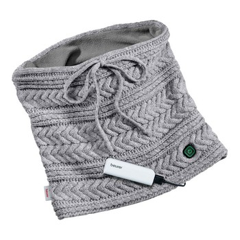 Rechargeable Heated Scarf Beurer HK37 3.6W 2500 mAh (35 x 29 cm) Grey
