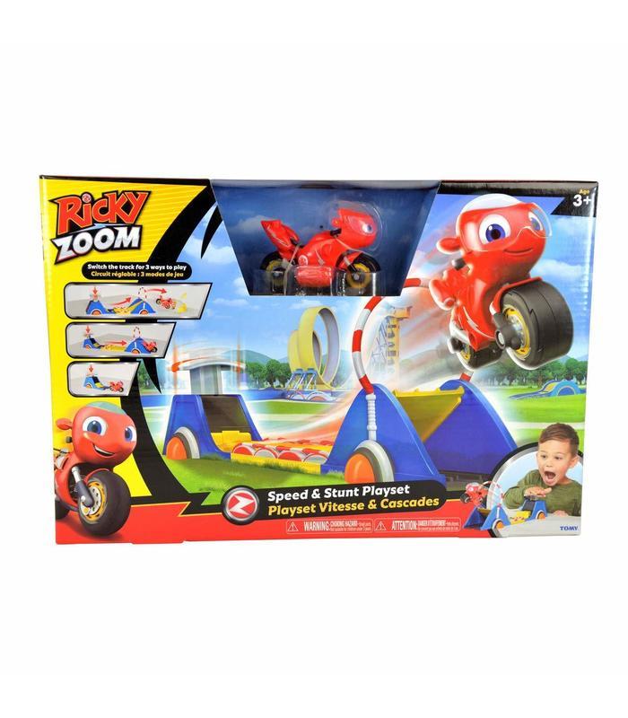 Ricky Zooming Playset Stunts Toy Store