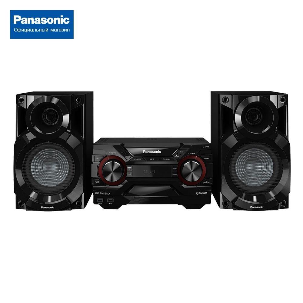 Минисистема Panasonic SC-AKX200E-K минисистема panasonic sc vkx25ee k черный