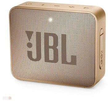 JBL SPEAKER GO2 PORTABLE BLUETOOTH CHAMPAGNE