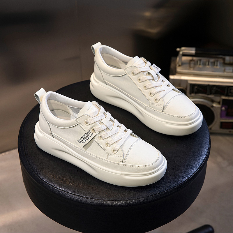 White Shoes Ladies Sneakers Woman Shoes