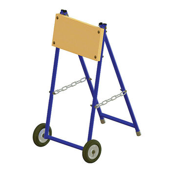 "Folding trolley ""compact"" for outboard motor up to 15 hp. 060123T"
