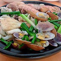 """#美食说出""""新年好""""#不加一滴水原汁原味海鲜煲的做法图解7"""