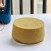 #安佳食力召集,力挺新一年# 抹茶戚风奶油蛋糕的做法图解16