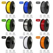 Artillery 3D Printer Filament 1 75mm 1KG 500G Plastic Material PETG 3D printing filamento Multi colors