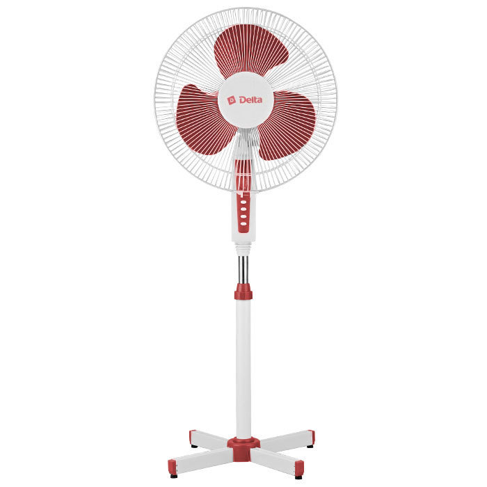 Outdoor Fan Delta Dl-020n White With Red (outdoor Fans)