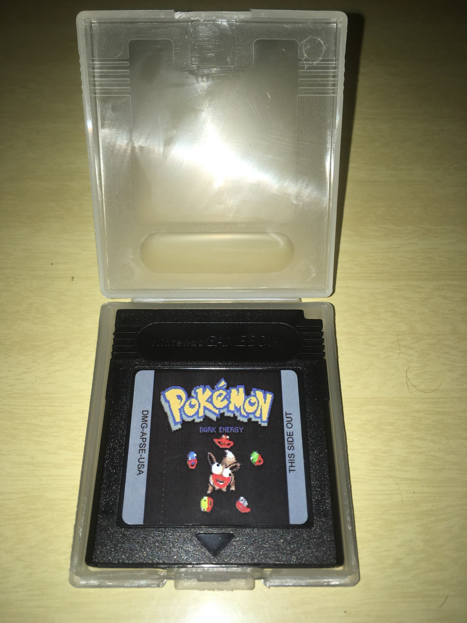 For Nintendo GBC Video Game Cartridge Console Card Poke Series Dark Energy English Language Version photo review