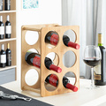 Flasche rack Bambus (6 Flaschen) Bar & Wein Schränke Möbel -