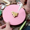 Mini Kuchen Platte Revolving Dekoration Stehen Plattform Einfach Zu Bedienen Plattenspieler Runde Dreh Kuchen Swivel Weihnachten Backen Werkzeug