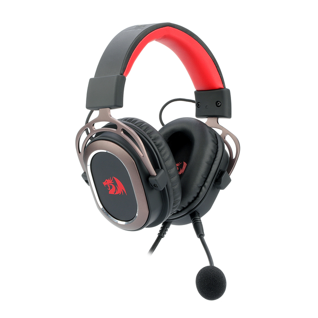 Redragon H710 Helios Wired Gaming Headset - 7.1 Surround Sound - Memory Foam Ear Pads - 50MM Drivers - Detachable Microphone 2