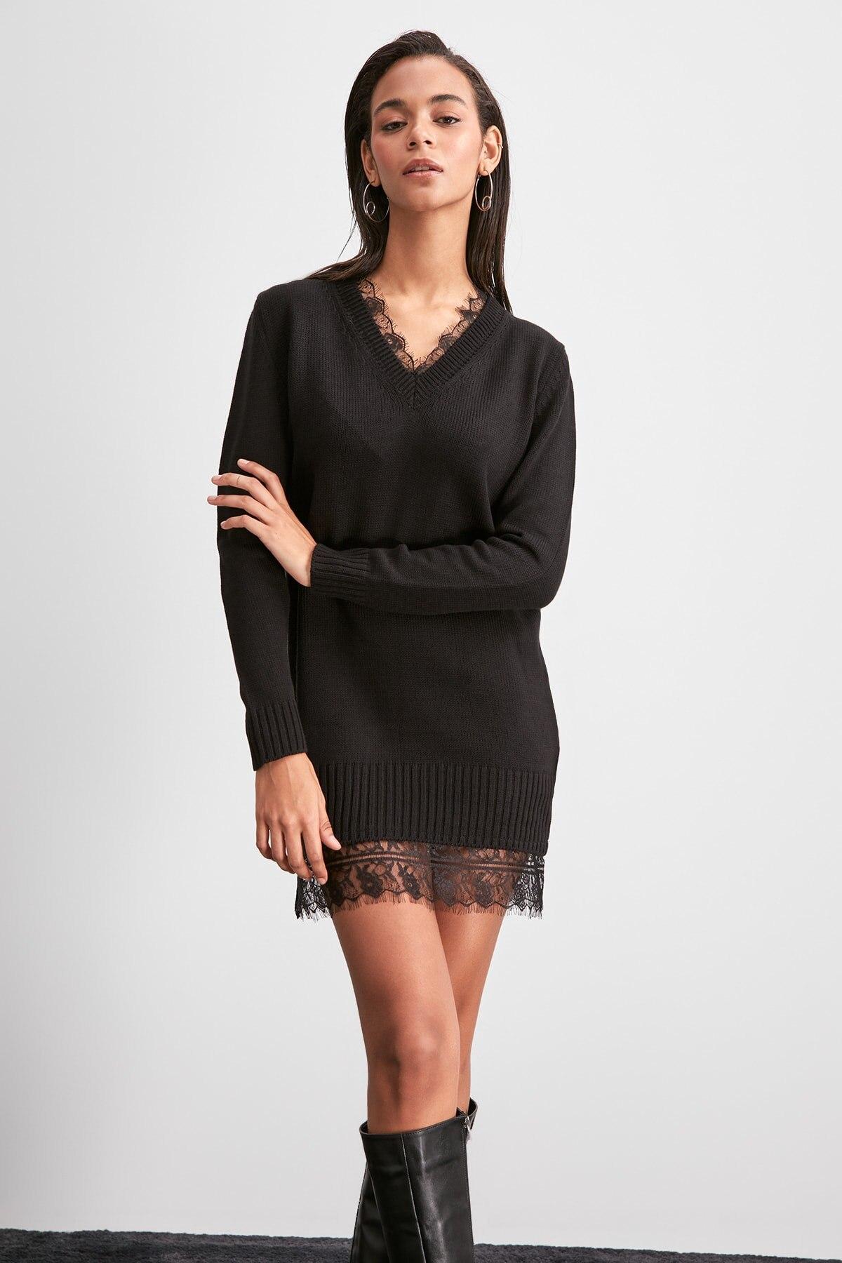 Trendyol Ruched Knitwear Dress TWOAW20EL2071