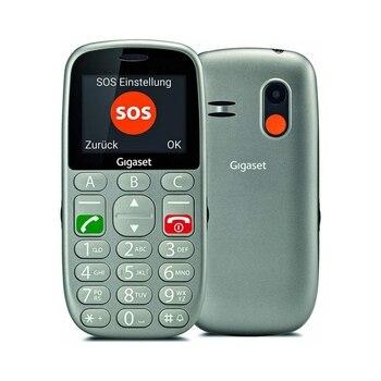 GIGASET GL390 Teléfono Senior Gris