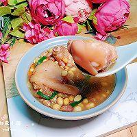 黄豆花生猪蹄汤 #福气年夜菜#的做法图解16