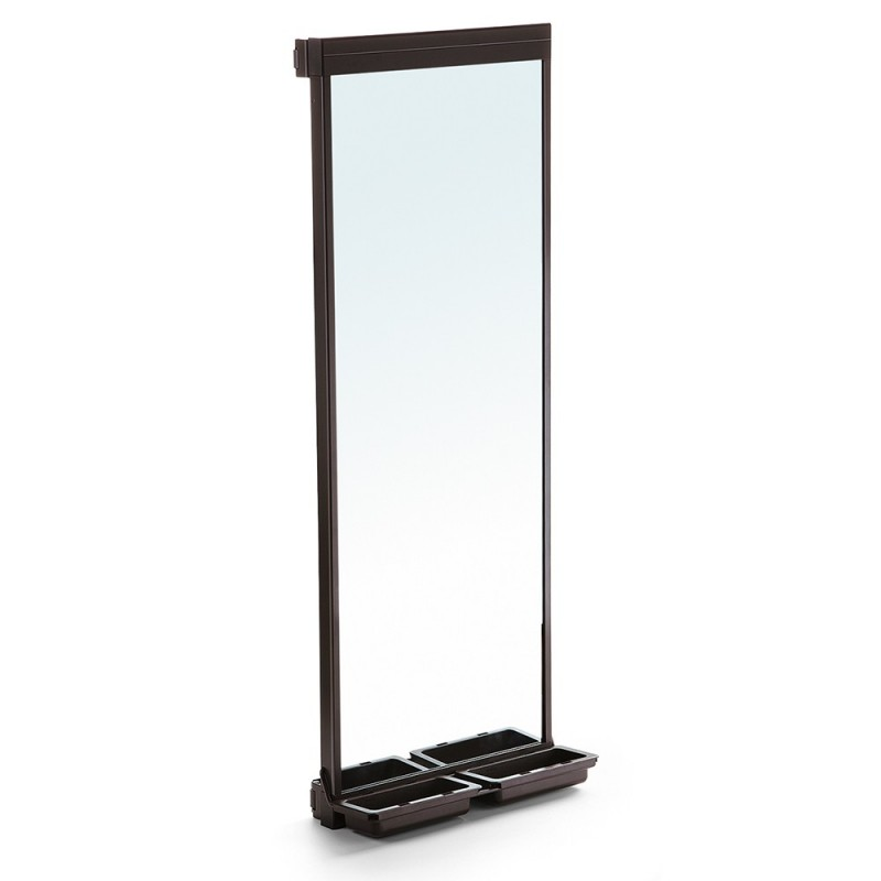 Mirror Removable Interior Wardrobe Moka Emuca