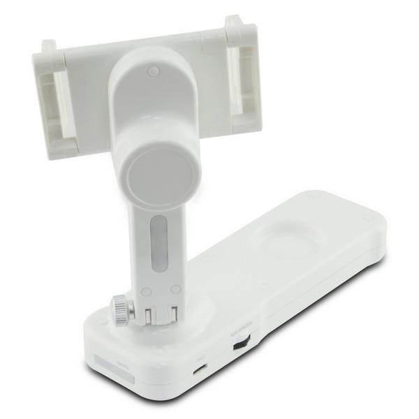 Camera Stabiliser for Smartphone KSIX Steady Rec 1000 mAh White Tablet Stands     - title=