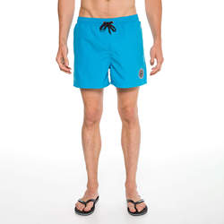 Routefield Vast Blue Mens Board Shorts Swimwear Swimming Beach Short Surf Pants Swimsuits Boardshorts