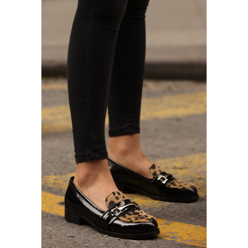 Bernice Leopard Oxford shoes 2020 new fashion high top casual winter spring shoes for women, women oxford shoes in