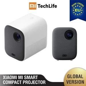 Image 1 - Mi Smart Compact Projector Mi Smart компактный проектор (портативный 1920*1080 поддержка 4K видео wifi проектор led Beamer tv Full HD для домашнего кинотеатра и офиса)