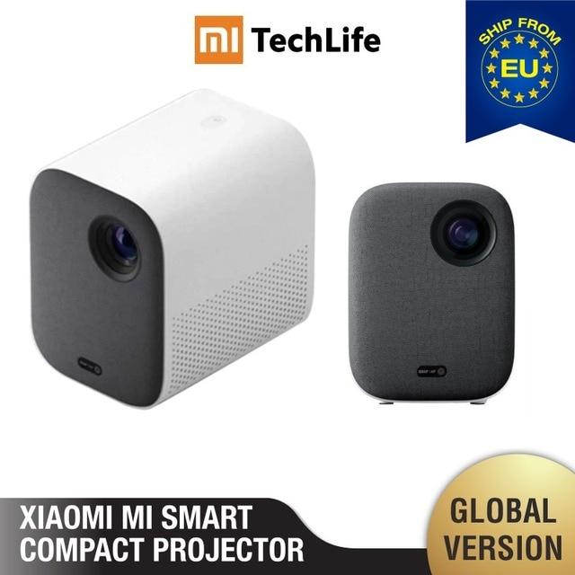 Mi Smart Compact Projector Mi Smart компактный проектор (портативный 1920*1080 поддержка 4K видео wifi проектор led Beamer tv Full HD для домашнего кинотеатра и офиса)