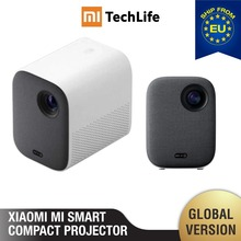 Mi Smart Compact Projector ( portable 1920*1080 Support 4K Video WIFI Projector LED Beamer TV Full HD for Home Cinema Office)