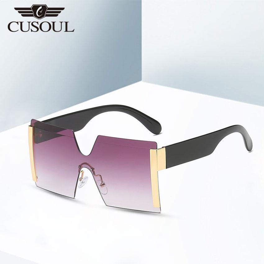 Cusoul Fashion Women Sunglasses Brand Design Women Vintage Sun Glasses Lady Luxury Sunglass UV400 Shades Eyewear