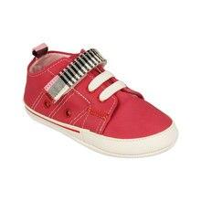 FLO Шнурованные первый шаг обувь> фуксия унисекс Детские кроссовки обувь Забавный-ребенок