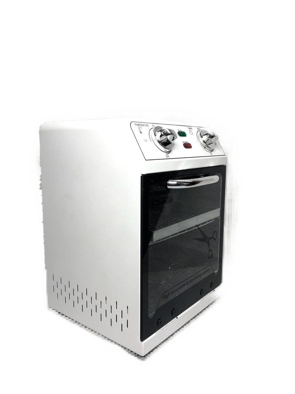 High Temperature Sterilizer Box Nail Art Salon Portable Sterilizer Nail Art Tool Two Layer Dry Heat