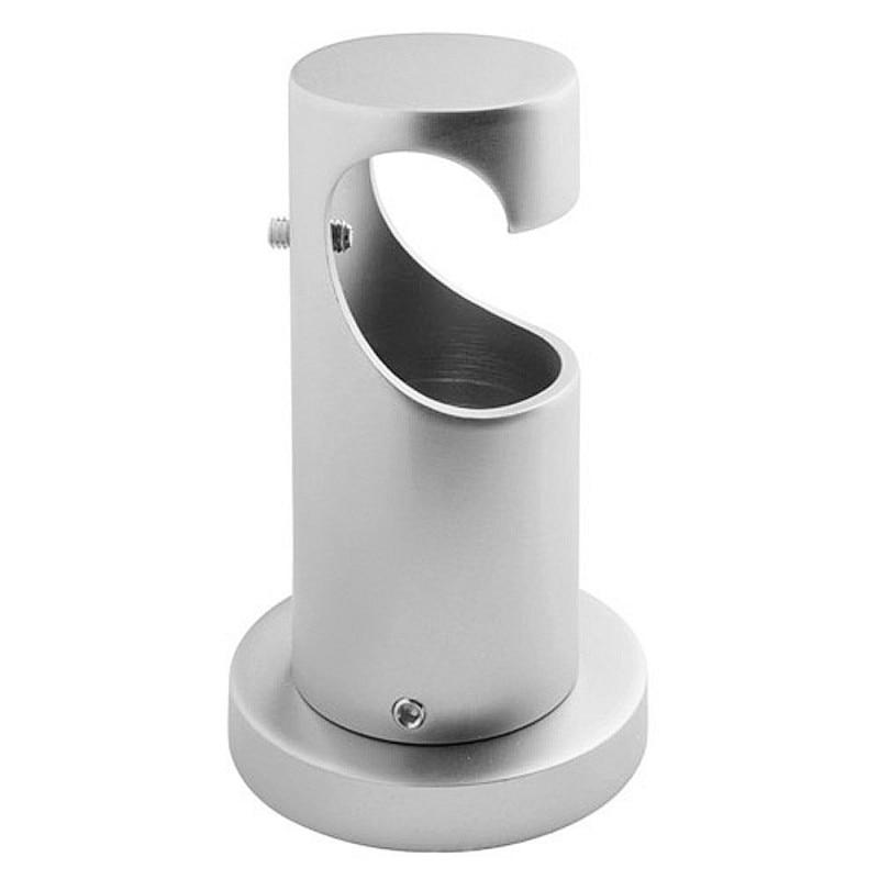 Ceiling Support Long Zircon 20mm. Nickel Matte