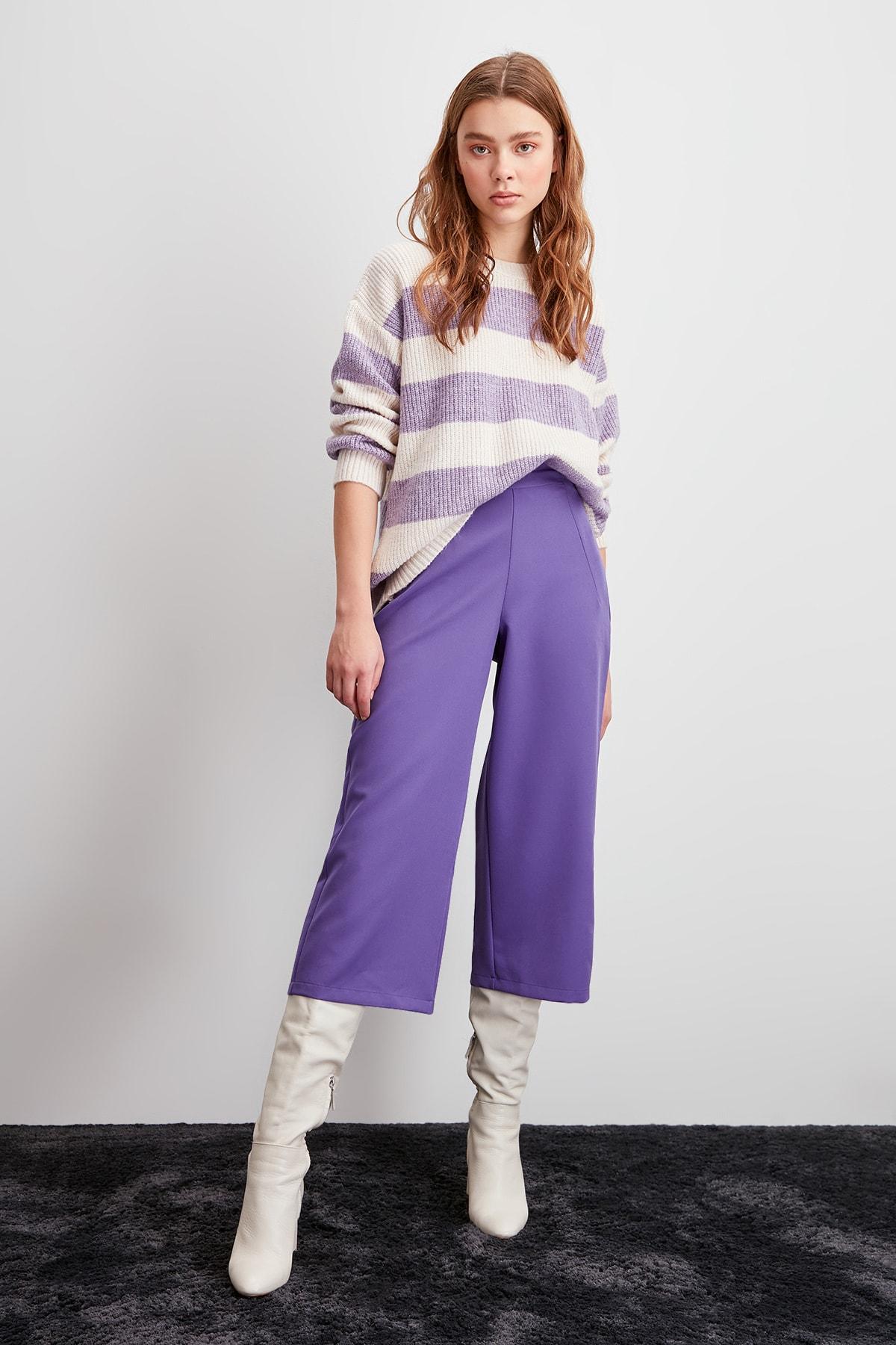 Trendyol Flare Pants TWOSS20PL0020
