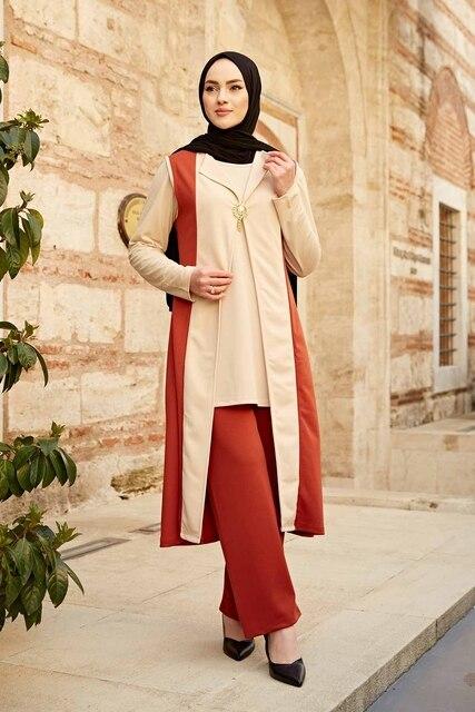 Kaftan 3 pieces Fashion Dress Sets Ensemble 6
